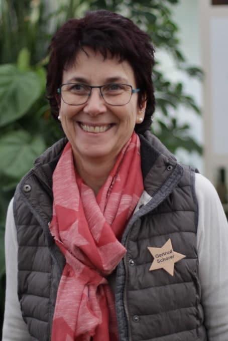 Inhaberin Gertrud Schorer